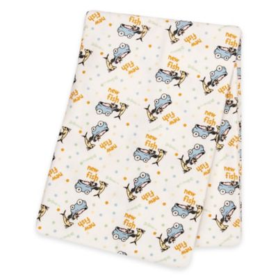 Trend Lab® Dr. Seuss™ One Fish Two Fish Deluxe Flannel Swaddle Blanket
