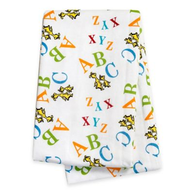 "Trend Lab® Dr. Seuss™ ""ABC"" Deluxe Flannel Swaddle Blanket"