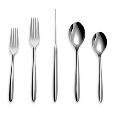 Nambe Dune Flatware 5-Piece Place Setting