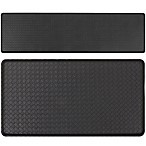 GelPro Basketweave Cushion Mat in Black
