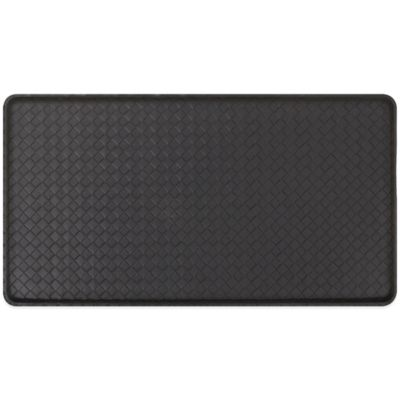 GelPro Basketweave 20-Inch x 36-Inch Cushion Mat in Black