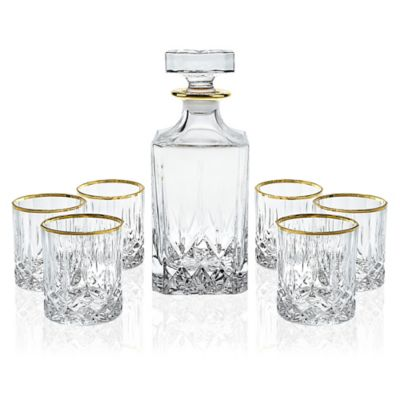 RCR Opera Collection 7-Piece Whiskey Set