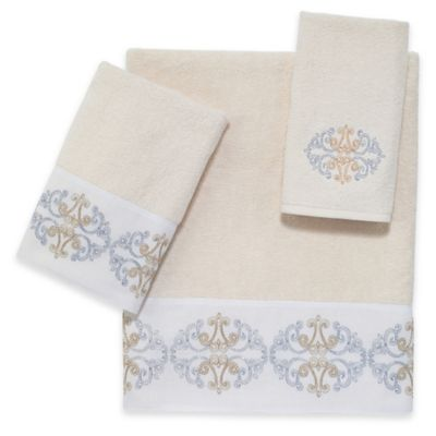 Avanti Ashley Bath Towel in Ivory