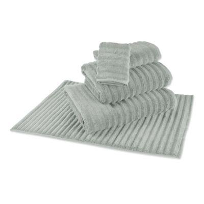 Mica Grey Bath Towel