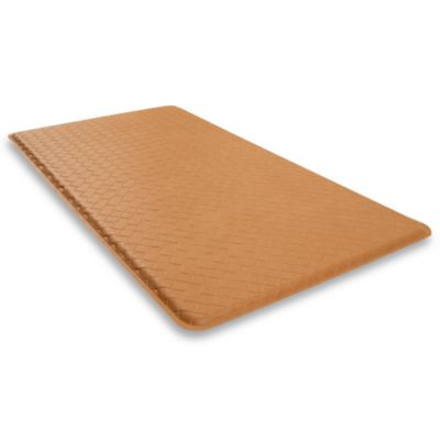 GelPro Basketweave 20-Inch x 36-Inch Cushion Mat in Khaki