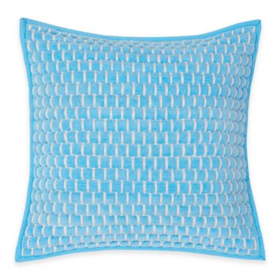 Southern Tide® Lagoon Square Throw Pillow in Blue Topaz
