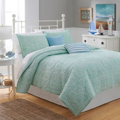 Southern Tide® Lagoon King Quilt in Green