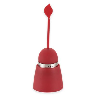 "BonJour® Silicone ""Teas in a Pod"" Tea Infuser in Red"