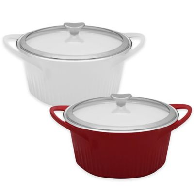 CorningWare® 3.5 qt. Covered Dutch Oven in White