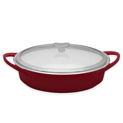 CorningWare® 4 qt. Covered Dutch Oven in Red