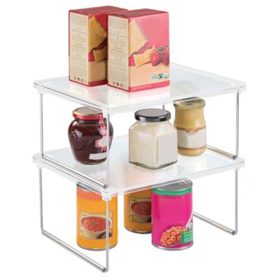 InterDesign® Cabinet Binz™ 12-Inch Stackable Shelf