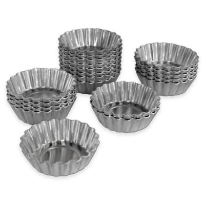 Fat Daddio's Mini Tartlet Pans (Set of 20)