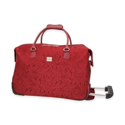 Ricardo Beverly Hills® Imperial 20-Inch Rolling City Duffle in Rosewood