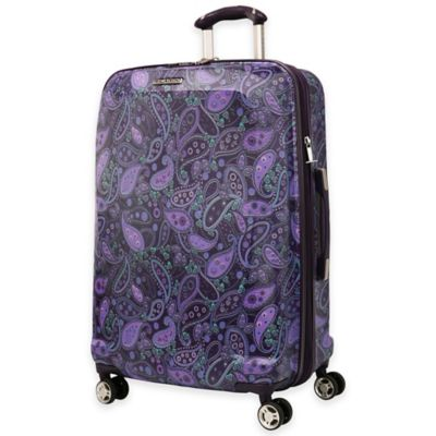 Ricardo Beverly Hills® Mar Vista 25-Inch 8-Wheel Hardside Expandable Spinner in Purple Paisley
