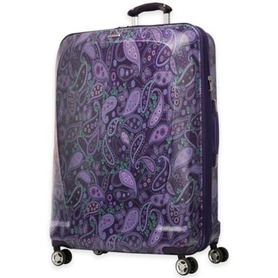 Ricardo Beverly Hills® Mar Vista 29-Inch 8-Wheel Hardside Expandable Spinner in Purple Paisley