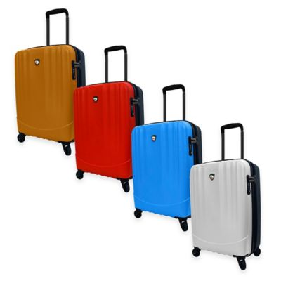 Orange Red Carry On Spinner
