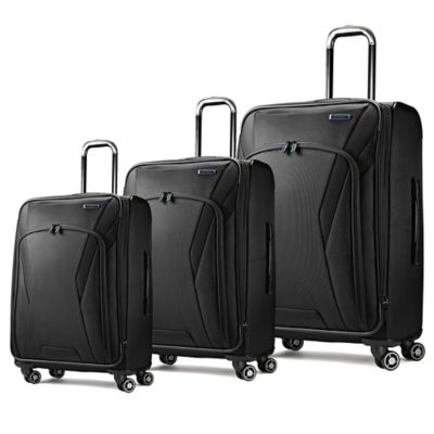Samsonite® GeoTrakR™ 21-Inch 4-Wheel Expandable Carry On Spinner in Black