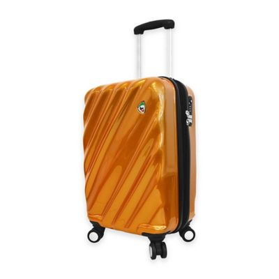 Grey/Orange Luggage Carry Ons