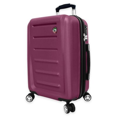 Mia Toro ITALY Moderno 29-Inch 8-Wheel Expandable Spinner in Burgundy