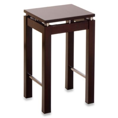 Espresso Kitchen Island 22 3/4-Inch Bar Stool