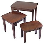 Antique Walnut 3-Piece Nesting Tables