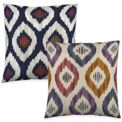 Colorfly™ Aura Throw Pillow in Kimono (Set of 2)