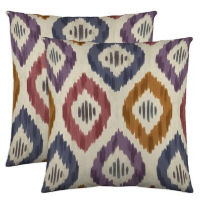 Colorfly™ Aura Throw Pillow in Prism (Set of 2)