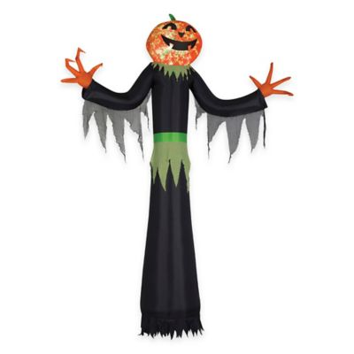 Inflatable 12-Foot Projection Kaleidoscope Man-Pumpkin