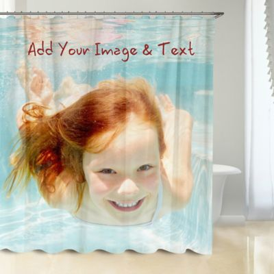 Photo Upload Shower Curtain