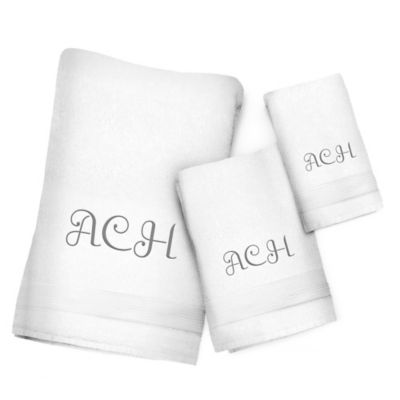 White Taupe Hand Towel