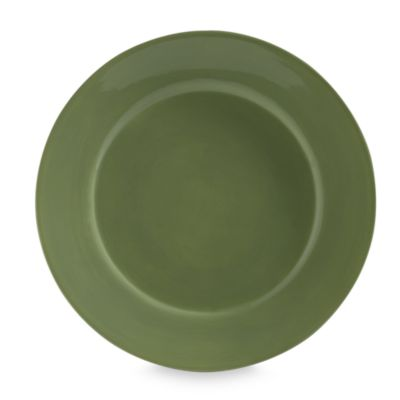 Tabletops Unlimited™ Misto 11-Inch Round Dinner Plate in Green