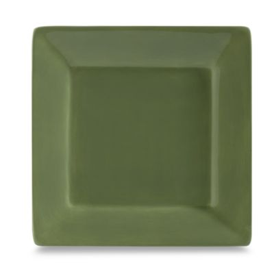 Tabletops Unlimited® Misto 10-1/2-Inch Square Dinner Plate in Green