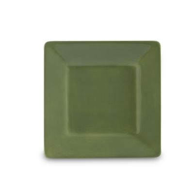 Tabletops Unlimited® Misto 8-1/2-Inch Square Salad Plate in Green