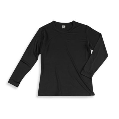 32º Heat™ Men's Medium Long Sleeve Crew Thermal Top in Black
