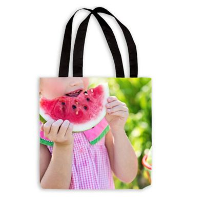 18-Inch Photo Tote Bag with Handles