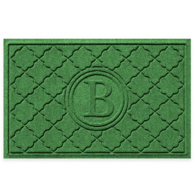 Weather Guard™ Bombay 2-Foot x 3-Foot Door Mat in Light Green