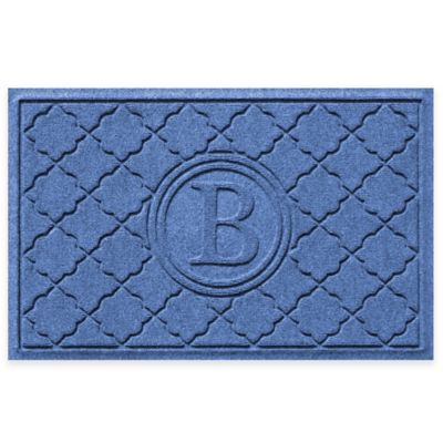 Weather Guard™ Bombay 2-Foot x 3-Foot Door Mat in Medium Blue