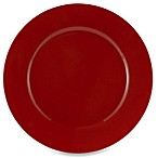 Tabletops Unlimited™ Misto 11-Inch Round Dinner Plate in Red