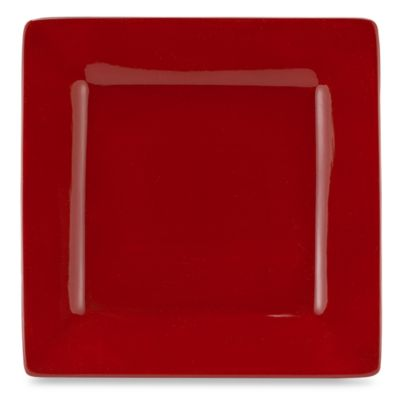Tabletops Unlimited™ Misto 10 1/2-Inch Square Dinner Plate in Red