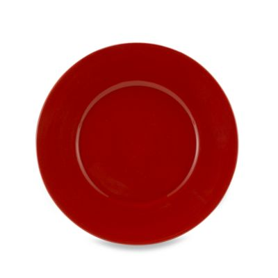 Tabletops Unlimited® Misto 8 1/2-Inch Round Salad Plate in Red