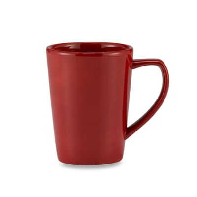 Tabletops Unlimited® Misto Mug in Red
