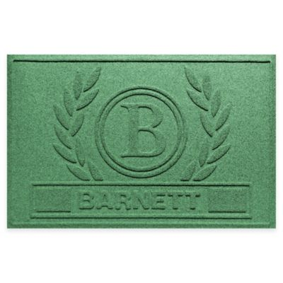 Weather Guard™ Wreath 23-Inch x 36-Inch Door Mat in Light Green