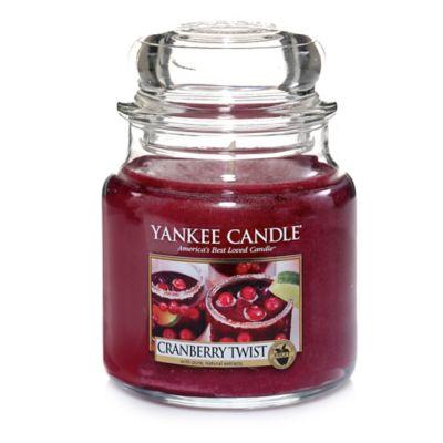 Yankee Candle® Cranberry Twist Medium Jar Candle