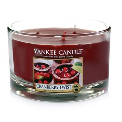 Yankee Candle® Cranberry Twist 3-Wick Dish Candle