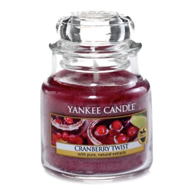 Yankee Candle® Cranberry Twist Small Jar Candle