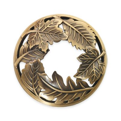 Yankee Candle® Illuma-Lid® Elegant Leaves Brass Leaves Candle Topper