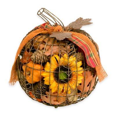 Harvest Wire Pumpkin Potpourri