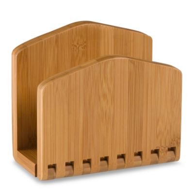 Lipper International Bamboo Napkin Holder