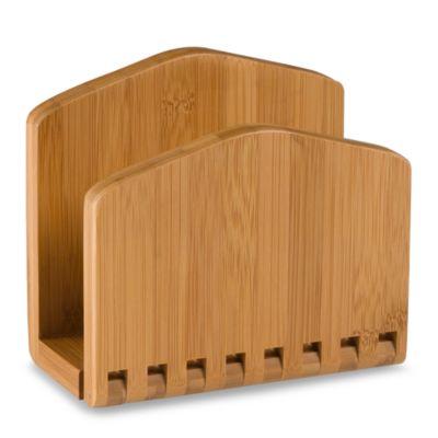 Lipper International Bamboo Napkin Holder