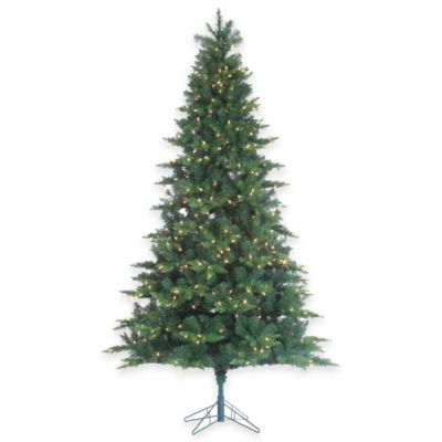 7.5-Foot x 52-Inch Longwood Pine Tree Pre-Lit with 600 Clear Lights